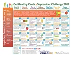 Find healthy eating and fitness tips on the September Calendar!