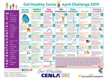 Want To Reduce Stress? Check Out The April Challenge Calendar!