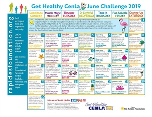 June Challenge Calendar Is Here!