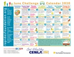 June Calendar Provides Daily Fitness, Nutrition Tips