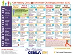 September Challenge Calendar Provides Daily Nutrition, Fitness Tips