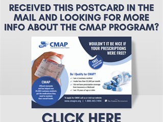 Receive our CMAP postcard?